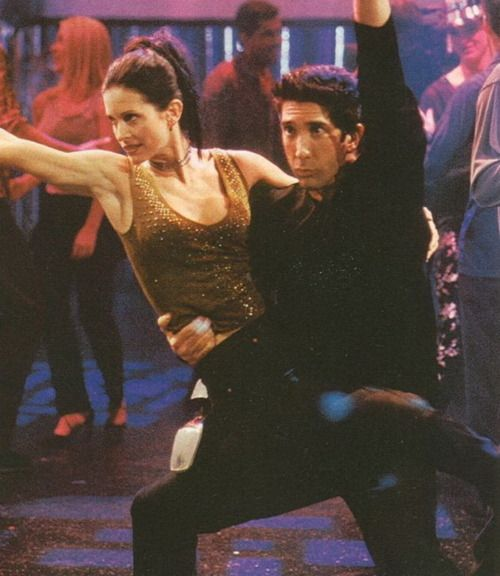 Ross/Monica dance duo