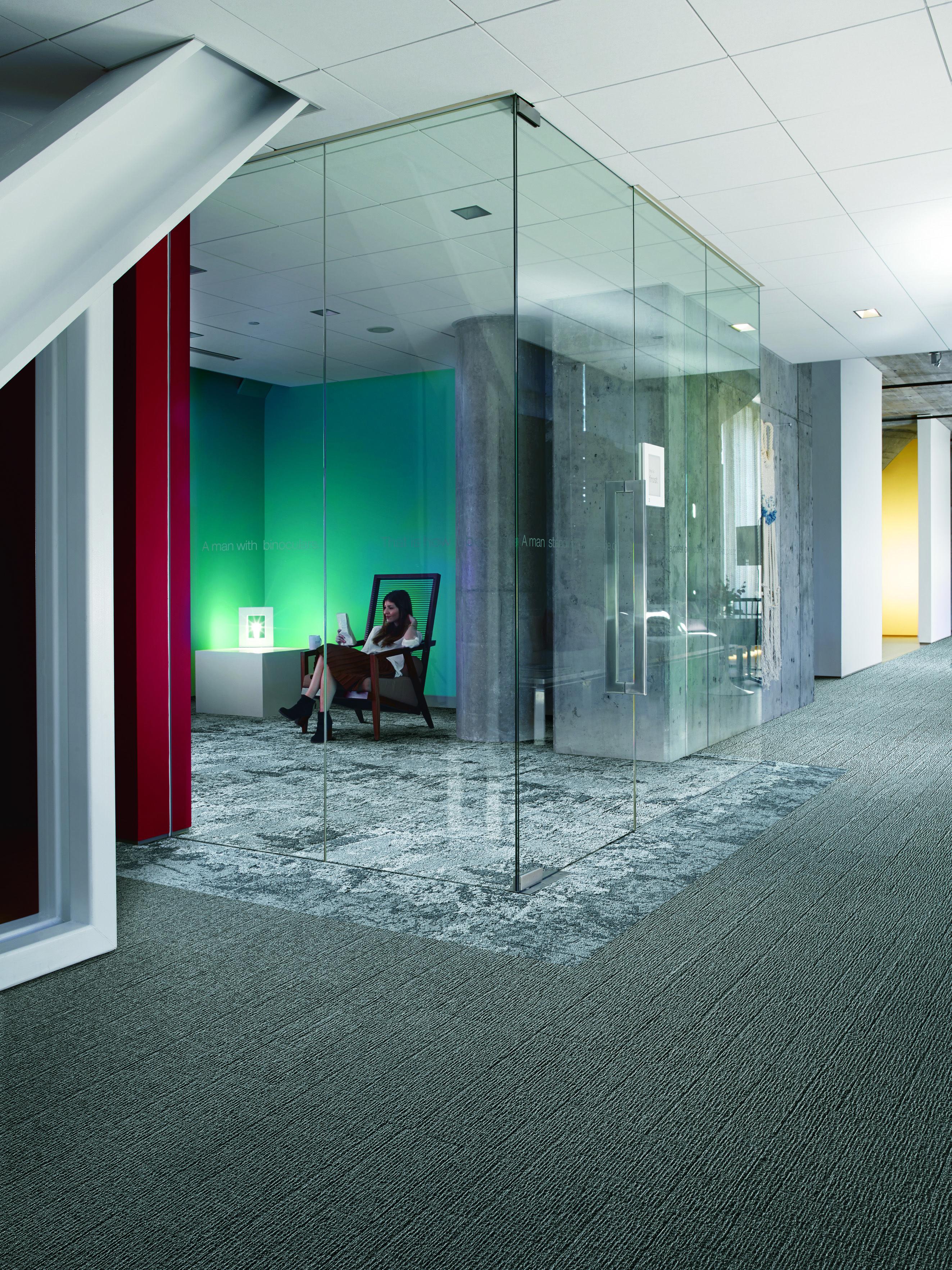 Interface Modular Carpet Tile Equal Measure Em551 Hill Net