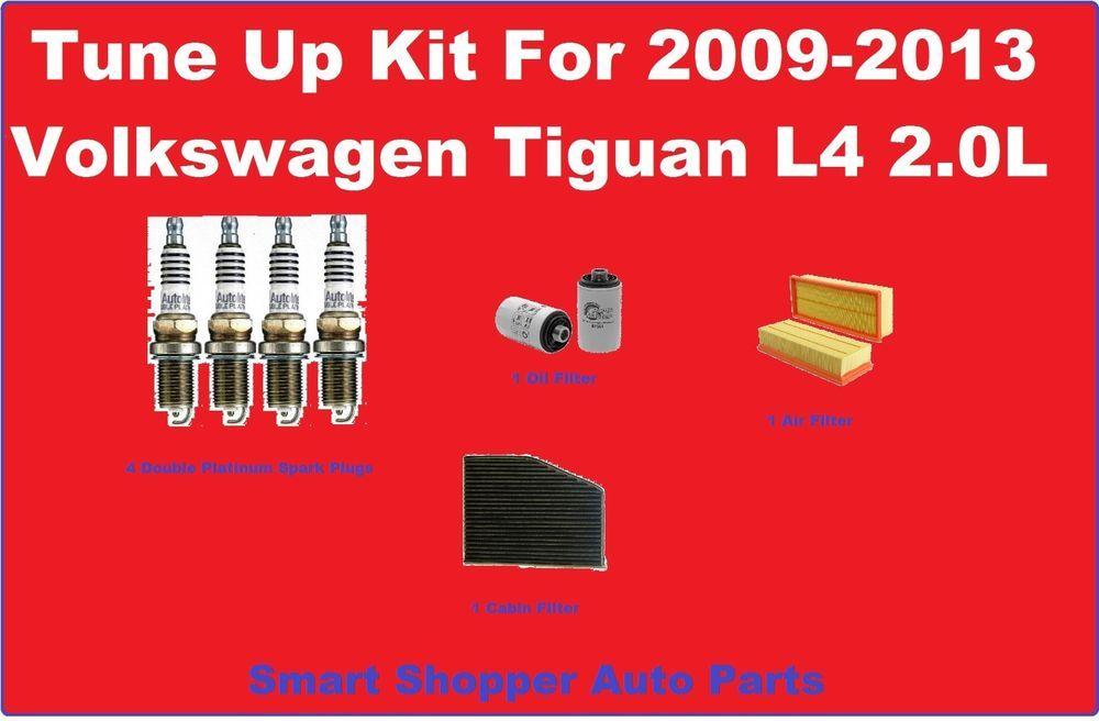 Tune Up Kit for 20112013 Volkswagen Tiguan Spa… Spark