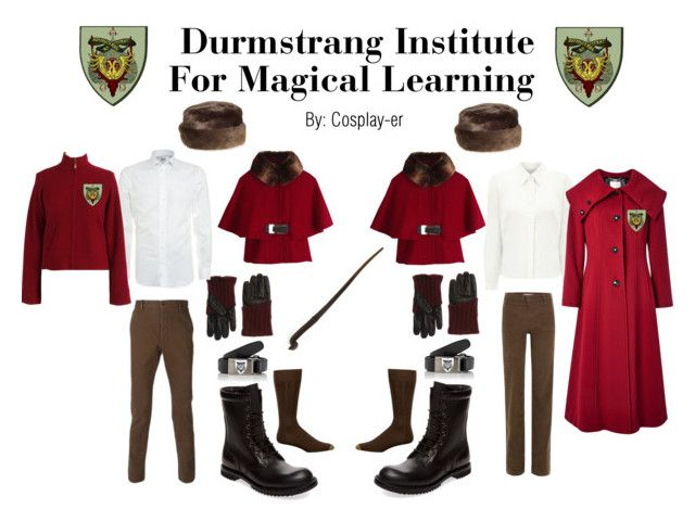Durmstrang Institute Viktor Krum By Cosplay Er Liked On Polyvore Featuring Rick Owens Vanessa Bruno Al Duca D Aos Harry Potter Wiki Viktor Jacques Vert Blood red robes are worn under this fur cape. durmstrang institute viktor krum by