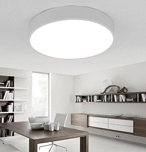 AYAYA-Badlampe-Deckenleuchte-Deckenlampe-Wei-Flache-Led-Decke - lampen badezimmer decke