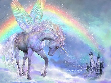 Carol Cavalaris - Unicorn Of The Rainbow