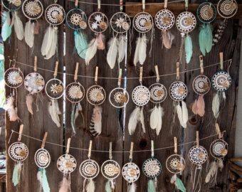 Midnight Moon Dreamcatcher ~ Hand-stitched, Beads ...