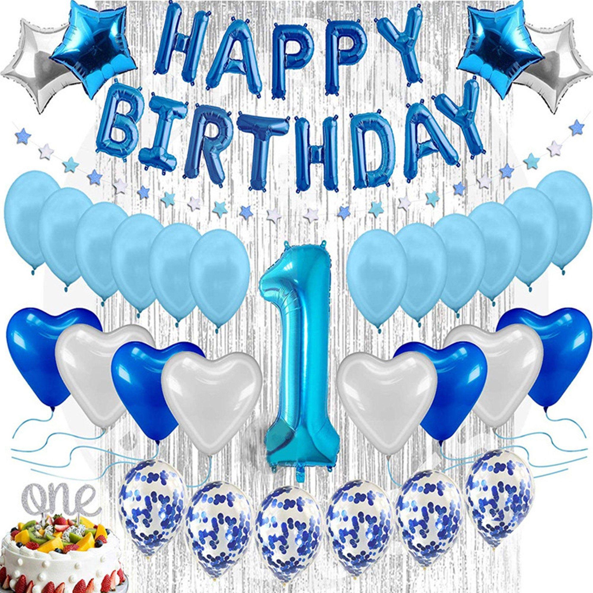 Pin Auf Birthday Party Balloons Decoration