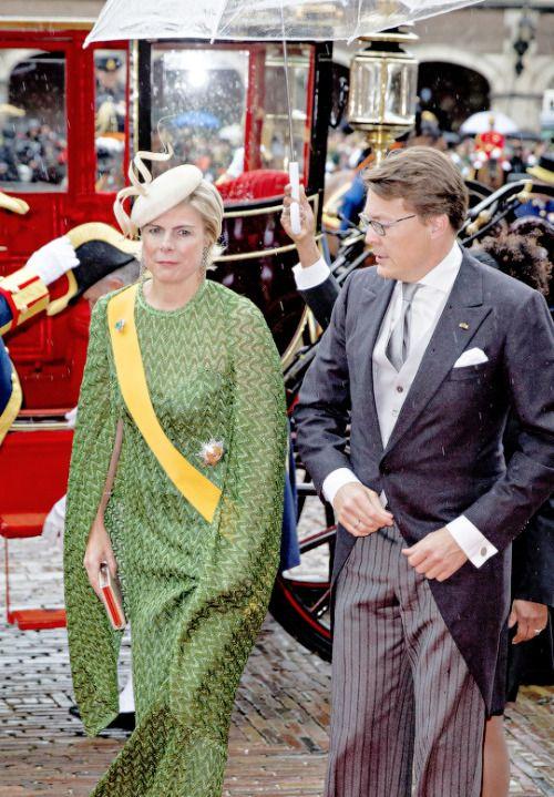 koninklijkhuis: Prinsjesdag 2015, September 15, 2015-Prince Constantijn and Princess Laurentien