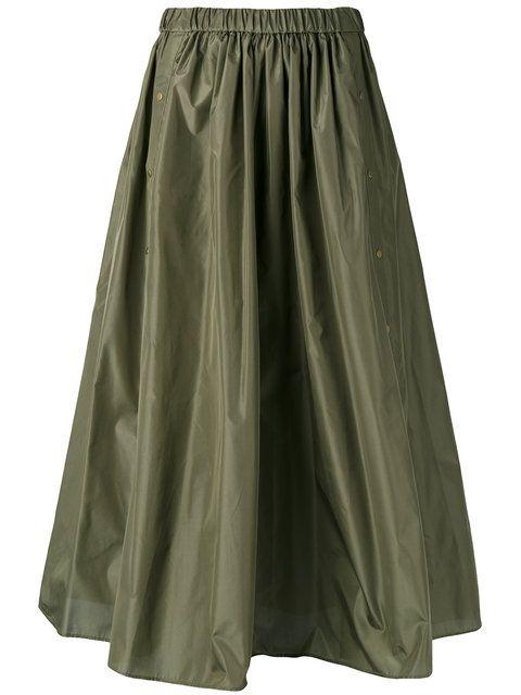 c2a99b073655 KENZO Military A-Line Skirt. #kenzo #cloth #skirt   Kenzo   Military ...
