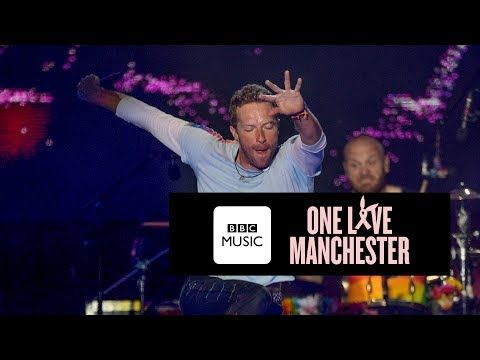 Coldplay Fix You One Love Manchester Youtube Chris Martin