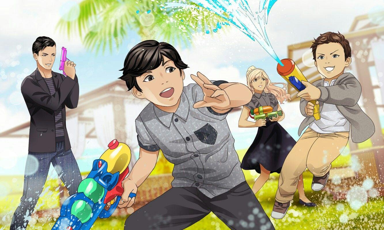 Gangster in love season 4 chance n family anime
