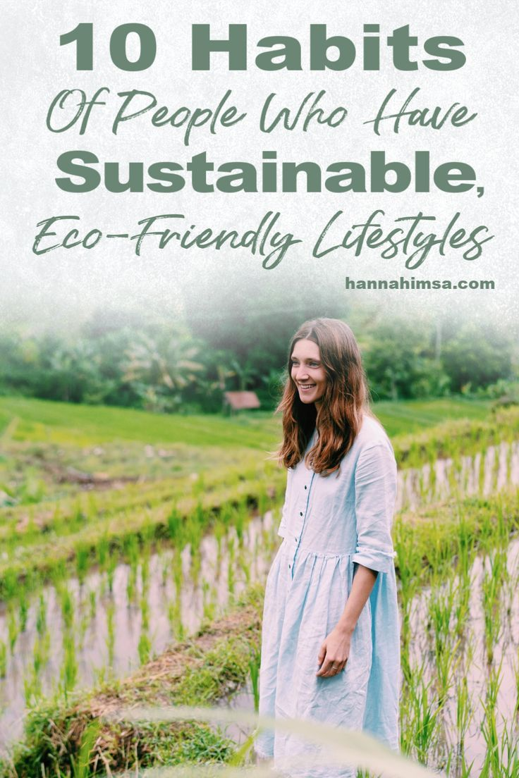 10 tips for living a more sustainable, eco friendly lifestyle - includes products, small changes, and easy tips! #ecoliving #sustainableliving #ecoliving