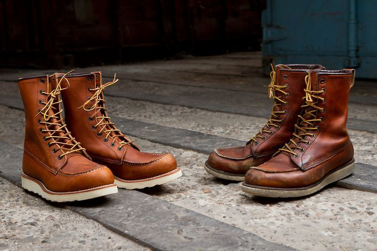 Red Wing 877 Boots - Boot 2017