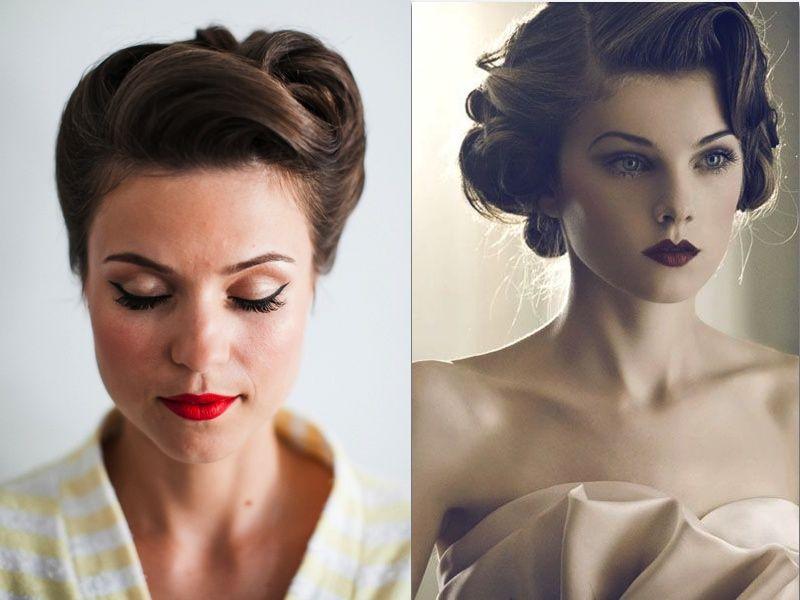 Awe Inspiring 1000 Images About Vintage Bridal Hair On Pinterest Updo Short Hairstyles For Black Women Fulllsitofus