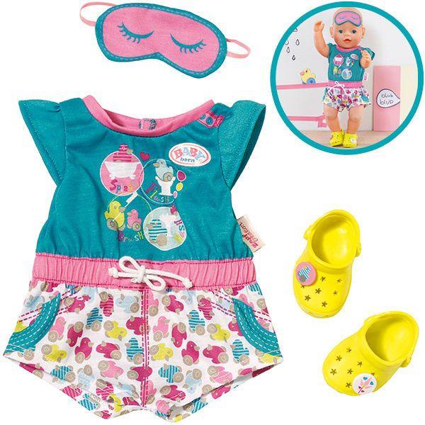 Zapf Creation Baby Born Shorty Pyjama Clogs Schlafanzug Puppe Puppenschlafanzug In Spielzeug Puppen Zubehor Bab Babypuppe Kleidung Baby Geboren Baby Puppen