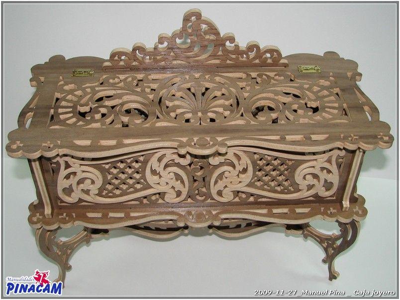 Cofre de marqueteria realizado por manuel www - Madera para marqueteria ...