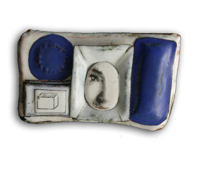 Silvia Walz   La visionaria (Geometria Series) Brooch
