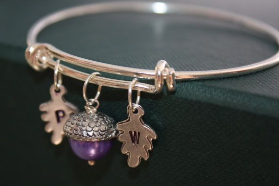 Acorn Bracelet  Peter Pan and Wendy Bracelet  by PenelopesPorch