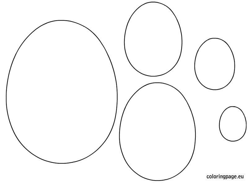 Easter egg shapes templates Easter Pinterest Easter Egg and