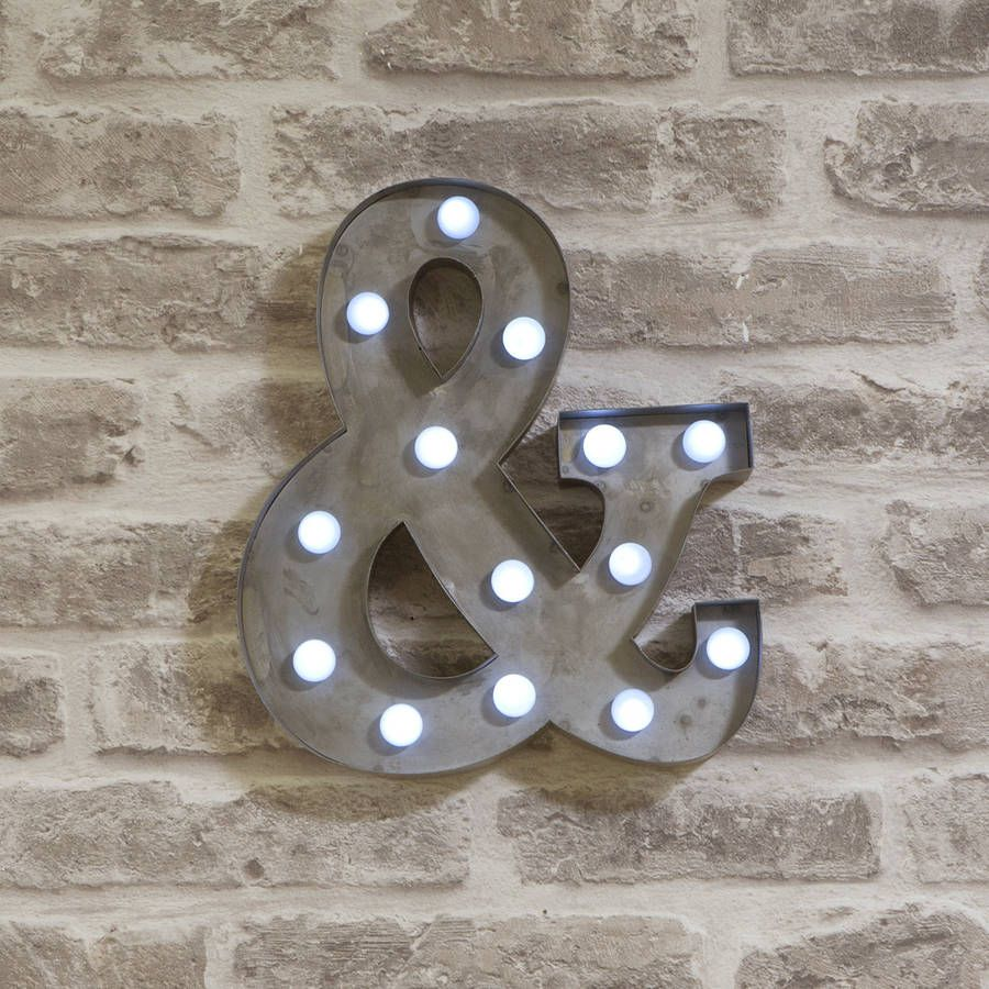 led circus letter lights