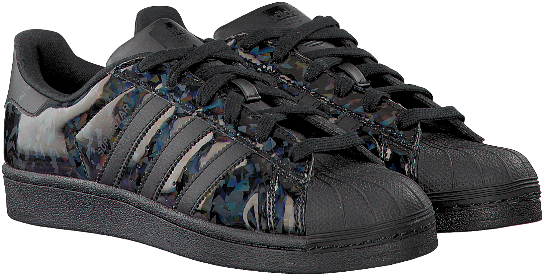 Zwarte ADIDAS Sneakers SUPERSTAR DAMES | Fashion - Adidas ...