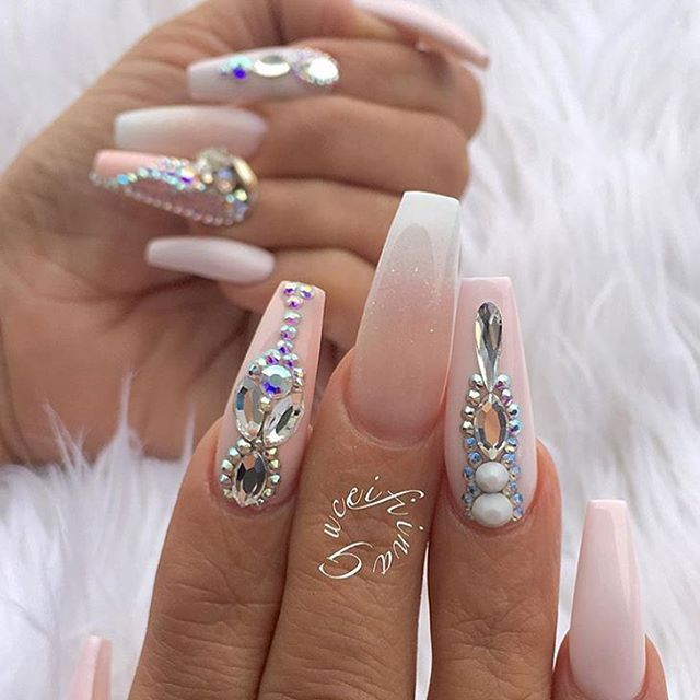 Pin by pita mar on Nails   Prom nails, Gorgeous nails