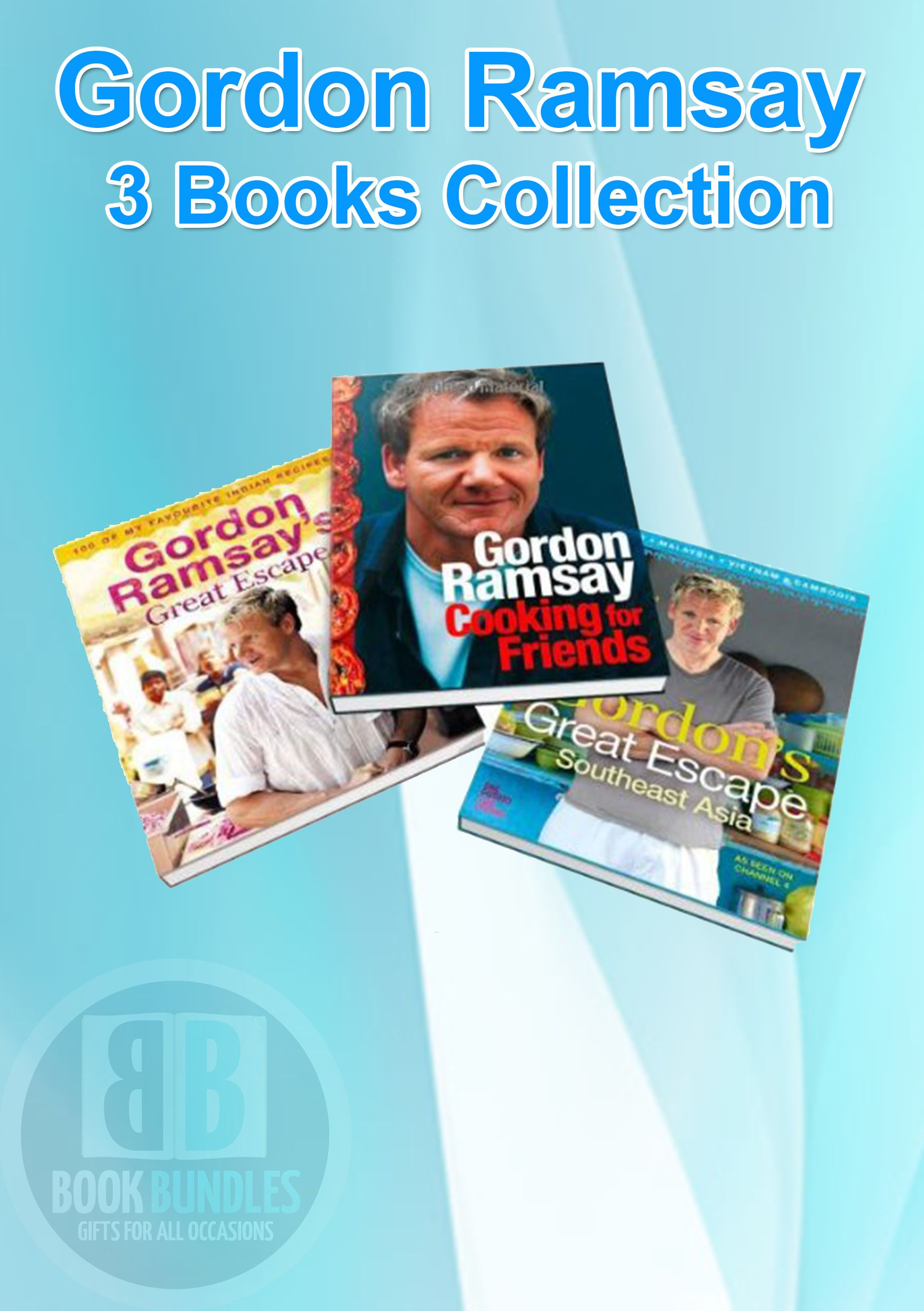 Gordon Ramsay 3 Books Collection at Best Price. #GordonRamsay #DietBooks #BookCollection #RecipeBooks #Books #DietCollection