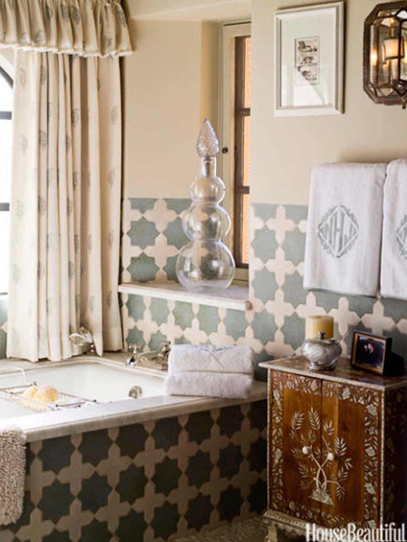 40 ideas para decorar tu baño con azulejos en 2020 ...