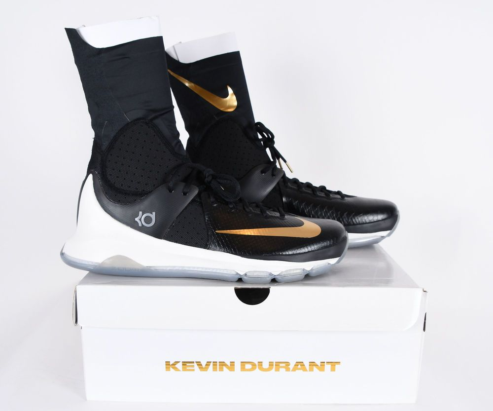 new product 904ce 95358 NIKE KD 8 Elite Black Gold Basketball Shoes Mens 834185 071 Size 15   fashion  clothing  shoes  accessories  mensshoes  athleticshoes (ebay link)