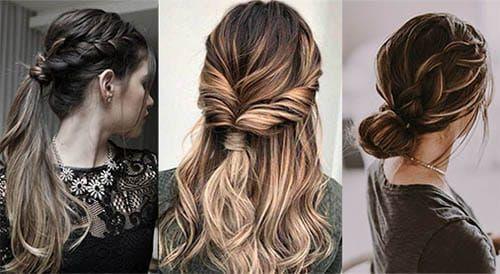 Una ✦✦colección de peinados faciles, sencillos y rápidos ✦✦ para