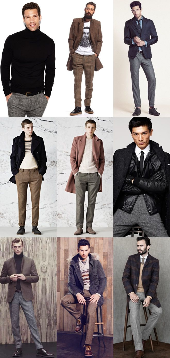Men's Tweed Trousers Lookbook | My closet. | Pinterest | The o ...