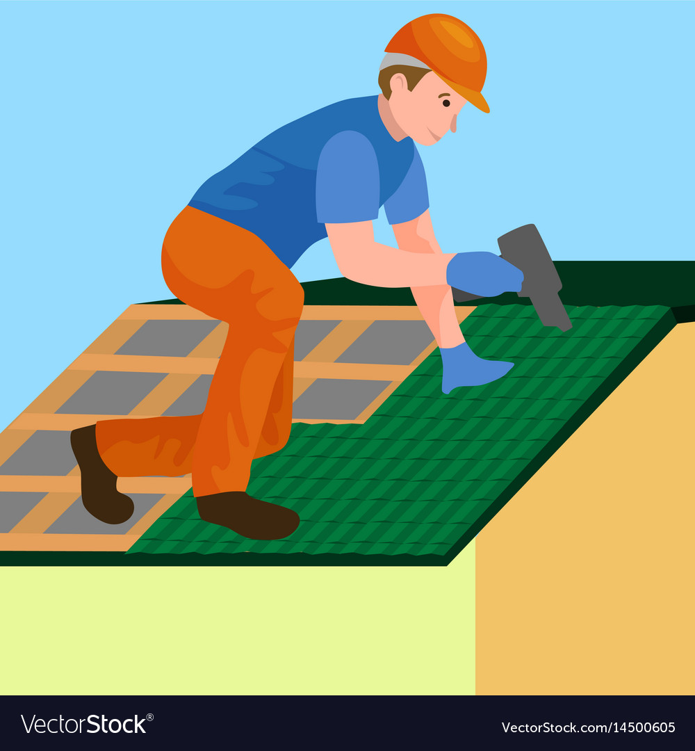 Rooftop Roof Clip Art Google Search In 2020 Roof Construction Construction Worker Repair