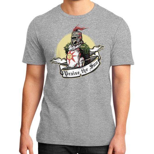 Praise the Sun District T-Shirt (on man)