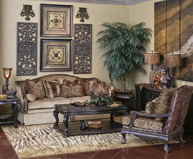 Hemispheres a world of fine furnishings tuscan decor i Old style living room ideas