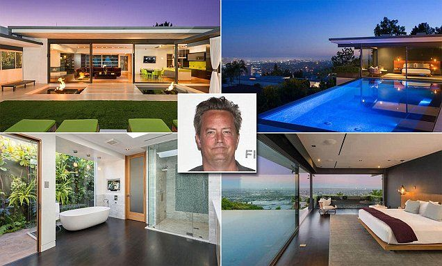 Matthew Perry Sells His Hollywood Hills Home For $12.5million