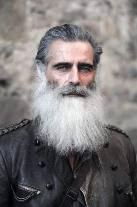 60 Grey Beard Styles For Men - Distinguished Facial Hair