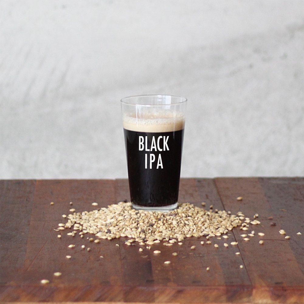 BLACK IPA 1 gallon BIAB - Brew in a Bag Recipe Kit. $21.50, via ...