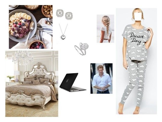 """""""(READ) Spend a day at home with Harry"""" by hrhtheduchessofclarence ❤ liked on Polyvore featuring ASOS, Hooker Furniture, We The Free, Pandora, Speck, Mark Broumand, Harry Winston, women's clothing, women and female"""