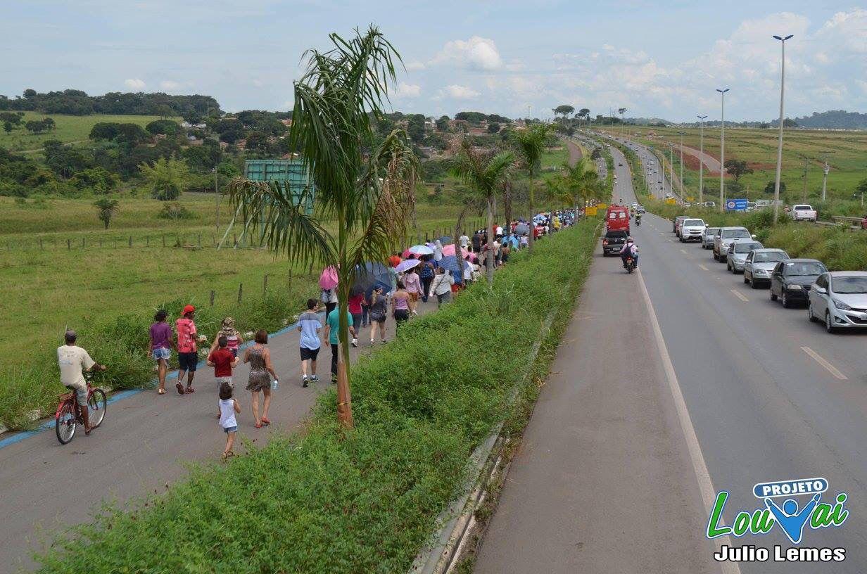 Caminho através da RODOVIA DOS ROMEIROS