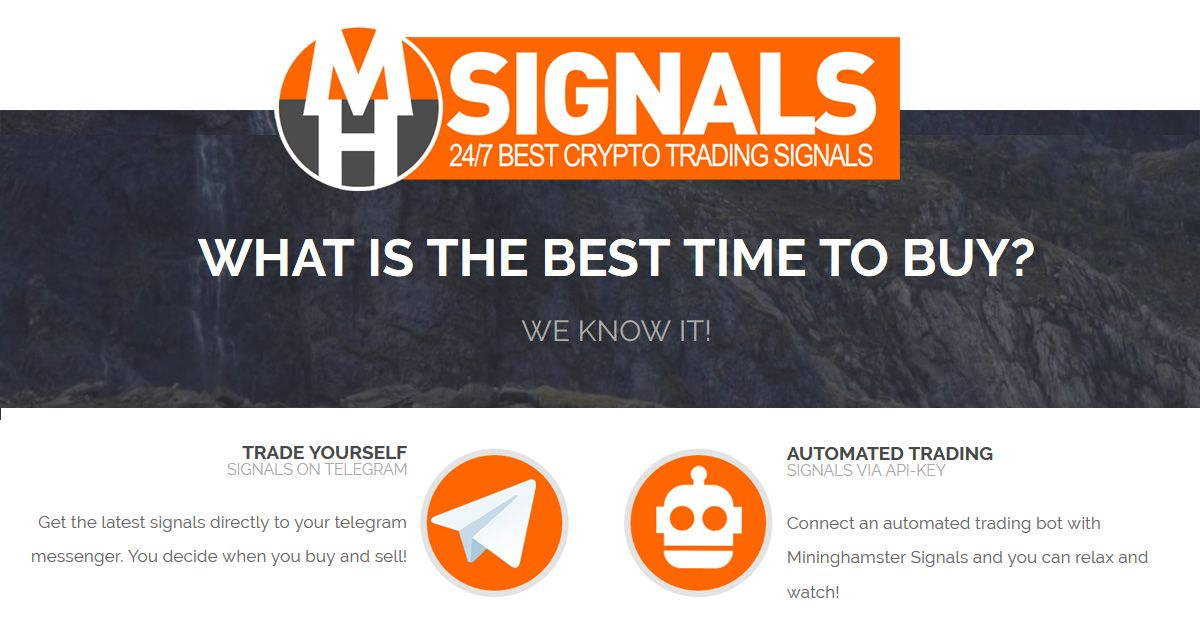 Mininghamster Signals Cryptocurrency Signalling Service Best