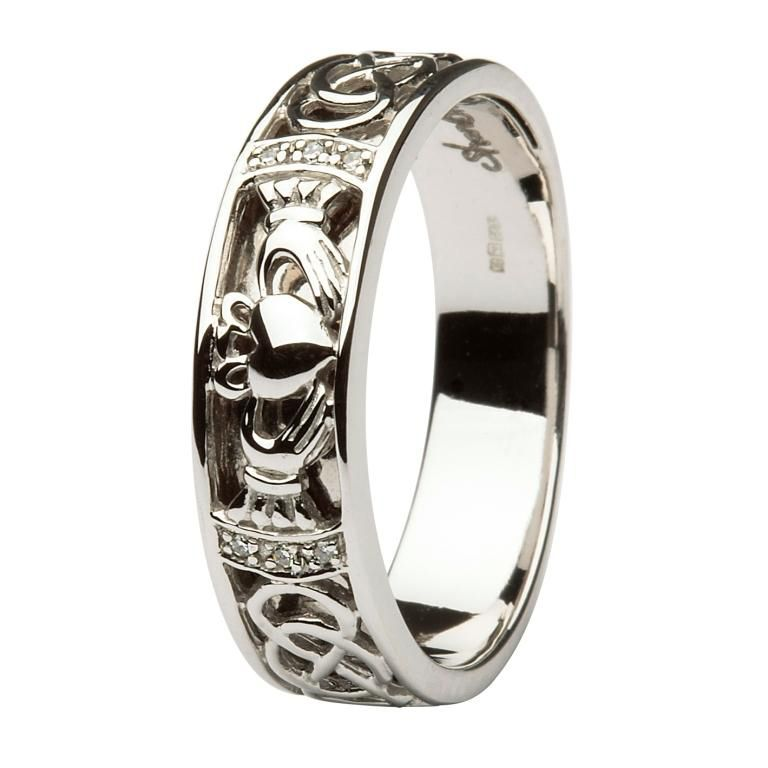 Mens Wedding Bands Claddagh RingsCladdagh