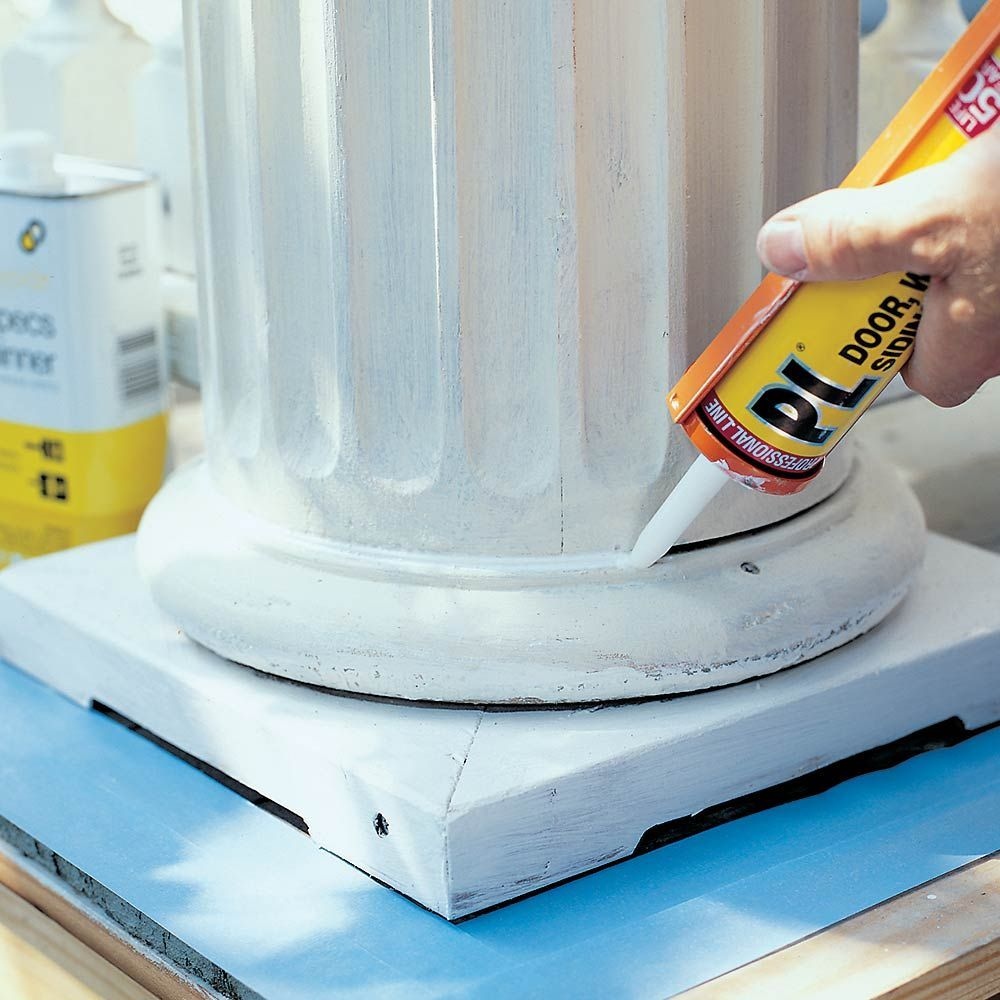 Choose Acrylic For Most Jobs Acrylic Caulk Is Easy To Use Easy To Smooth Out And Easy To Clean Up And Since It Offers Reasonabl Concrete Diy Caulking Caulk