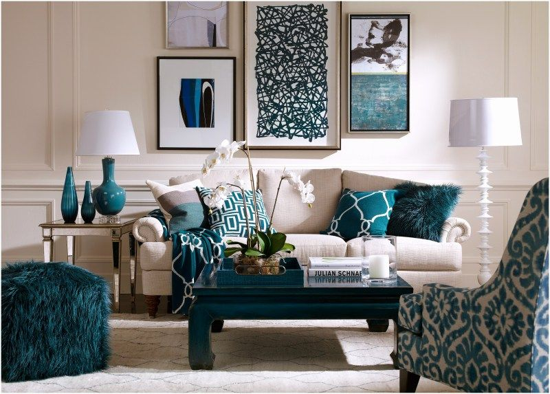 Ideas How To Decorate Living Room Black Side Tables For Christmas Blue Accents Decor Accentwall Brown Design Accent Wall Designs Behind Fireplace