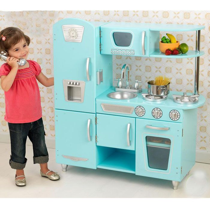 Kid Kraft Vintage Play Kitchen Seriously Awesome To Be A Again