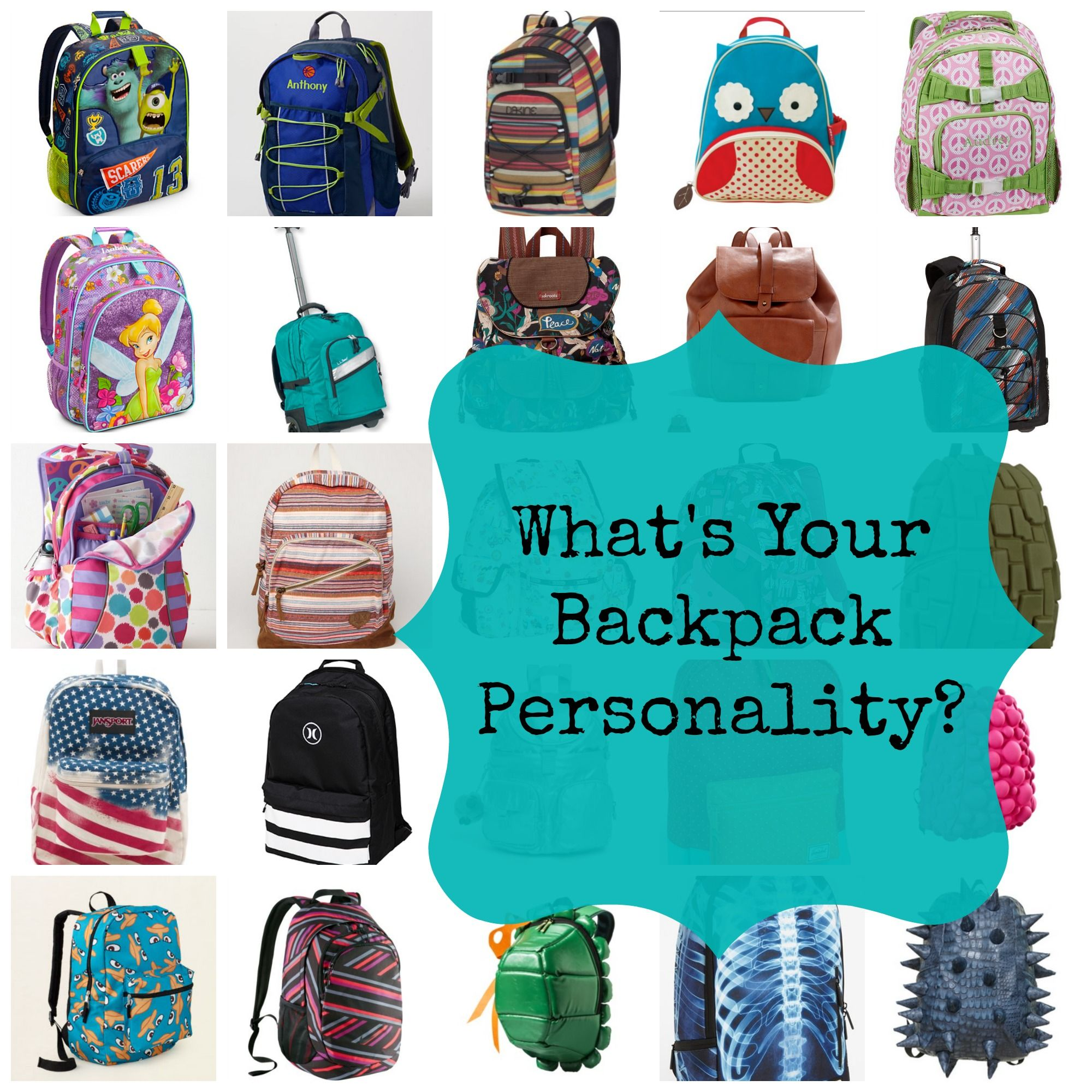 1000  images about Back to school backpack on Pinterest