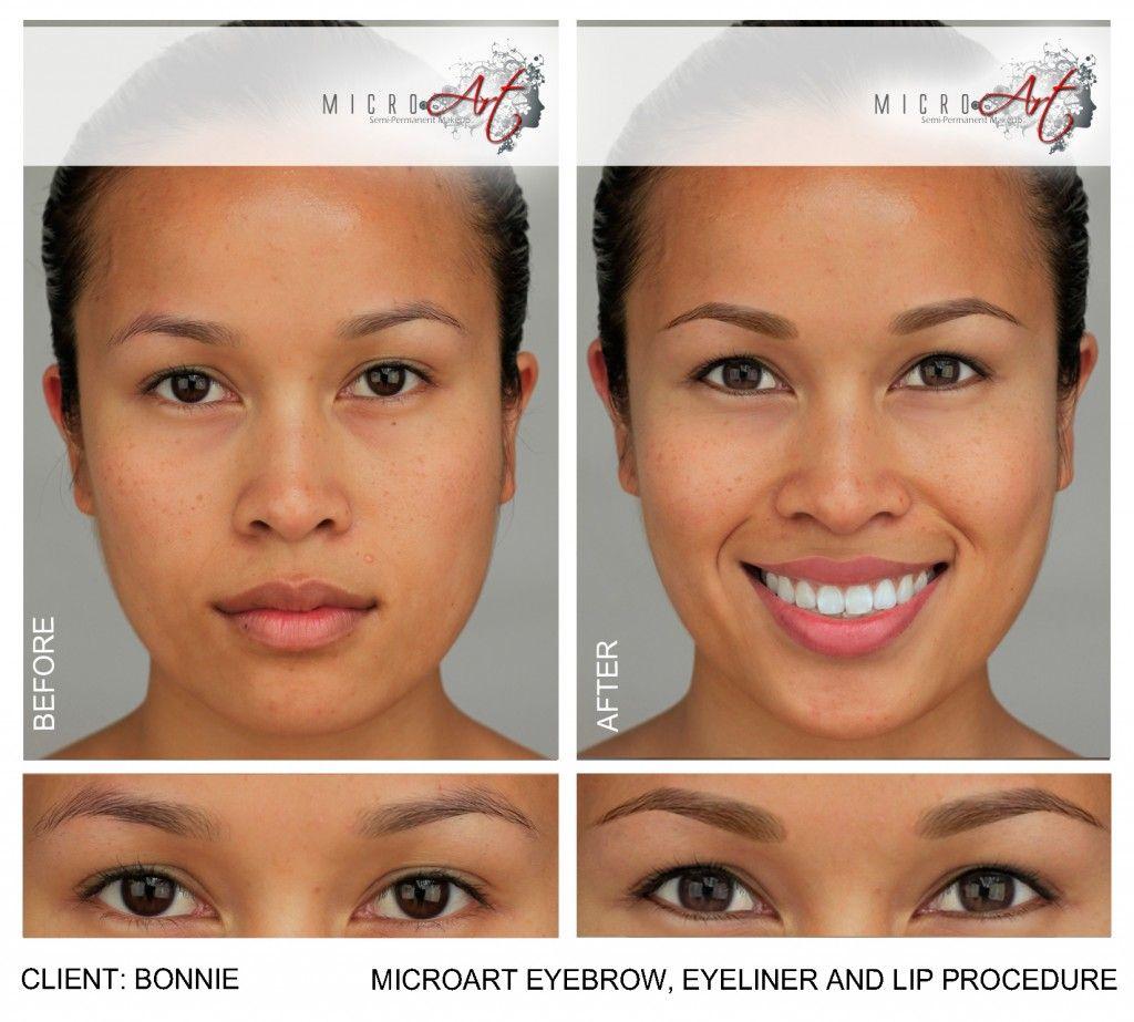 Eyebrow Tattooing Alternative Semi Permanent Makeup By Microart Permanent Makeup Eyeliner Permanent Eyeliner Semi Permanent Makeup Eyebrows