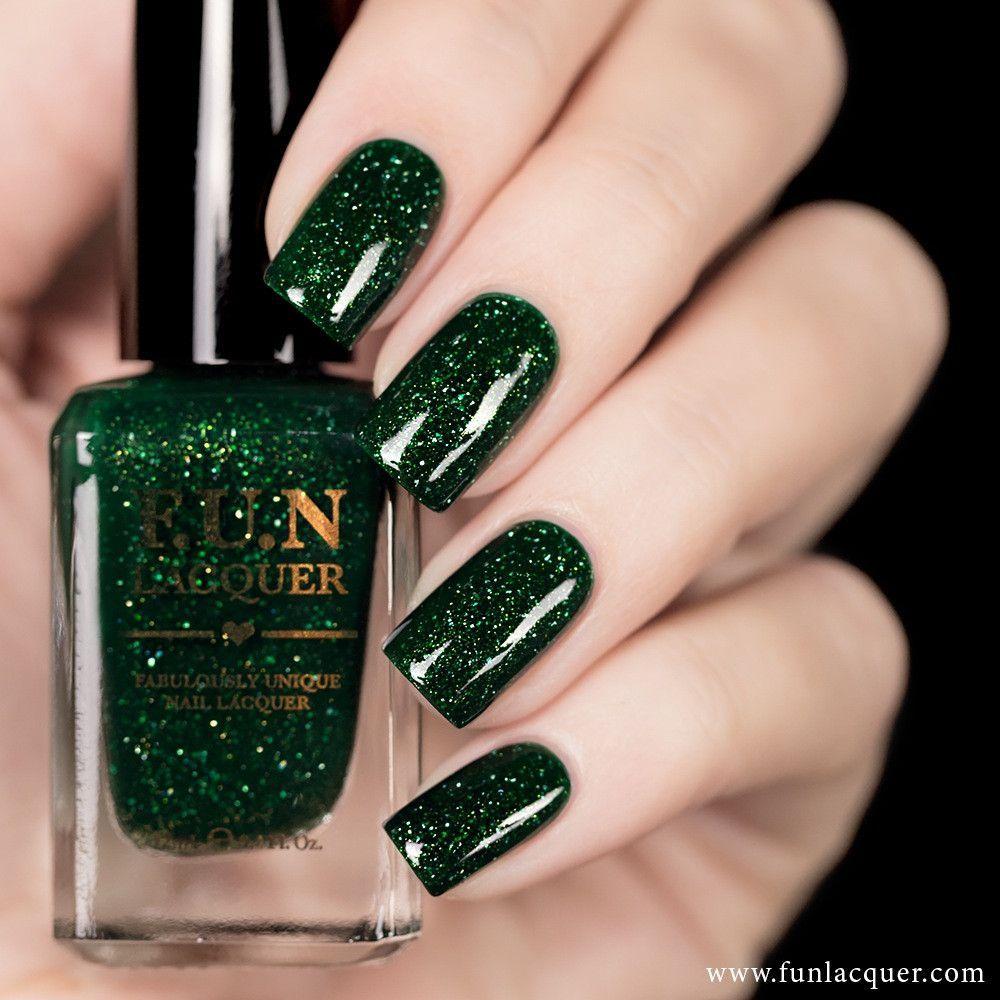 F U N Lacquer Paragon Green Nails Beautiful Nails Nail Polish