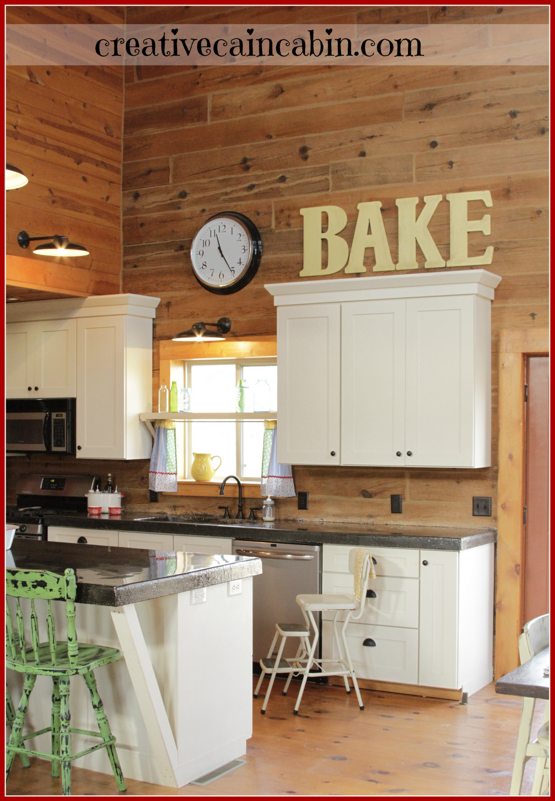 BAKE  Kitchen Letters, Would Be Perfect For My Kitchen.