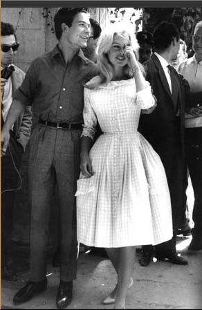 29/06/1959 brigitte bardot y su vestido de novia de jacques esterel