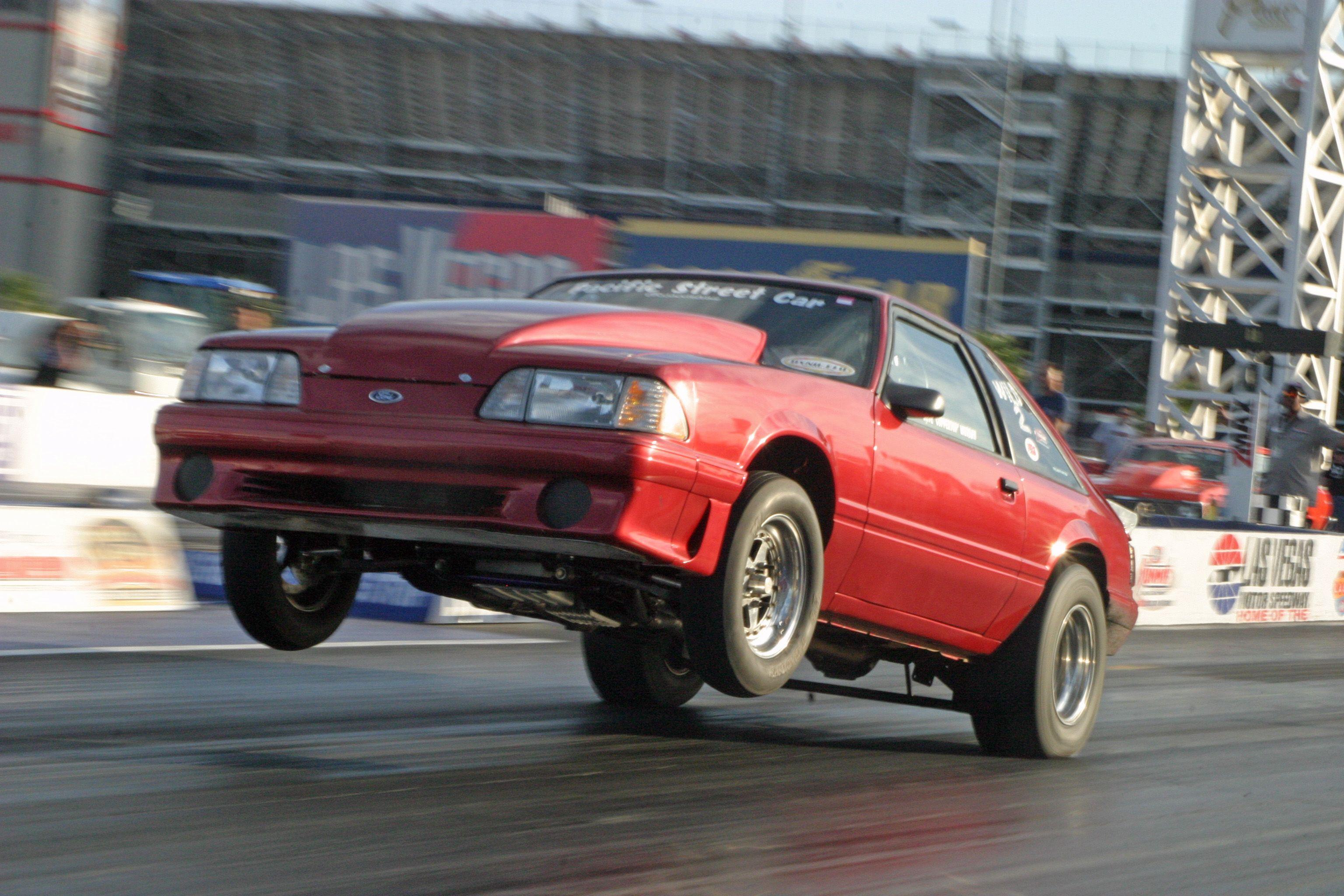 Mustang racing strip cost