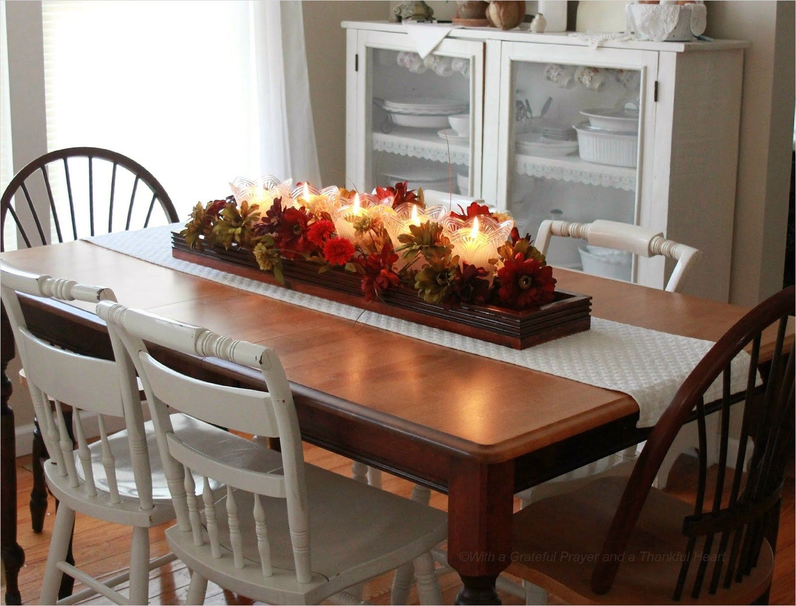 Long kitchen tables   Stunning Kitchen Table Centerpiece Ideas That Will Impress You