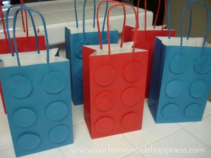 Loot bag ideas | Lego party ideas | Pinterest | Loot bags and Birthdays