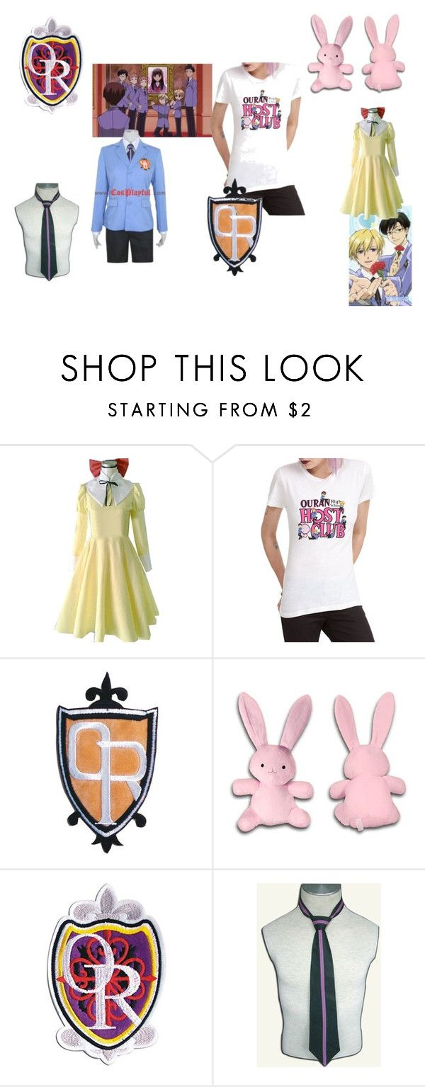 """""""Fangirl - Ouran"""" by fangirl-irl on Polyvore featuring anime and fangirl"""